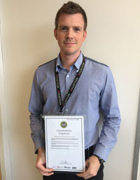 Craig Evans - Customer Account Executive - Swindon - For always going the extra mile to help colleagues and customers, taking the time to explain things and always willing to help.